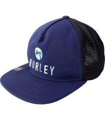 gorra hurley made in the shade-azul