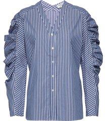 day springtime blouse lange mouwen blauw day birger et mikkelsen