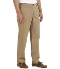 joseph abboud tan modern fit essential chino