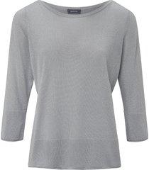 trui met brede boorden van basler grijs