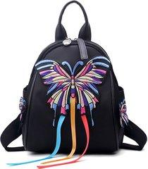 sacchetto di spalla dello zaino del modello della farfalla delle donne