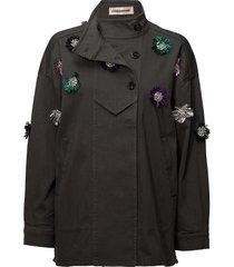 allessia outerwear jackets utility jackets groen custommade
