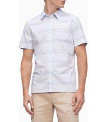 camiseta ss stretch ctn strp shirt calvin klein
