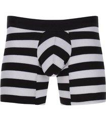 boxer rayas gruesas color negro, talla s