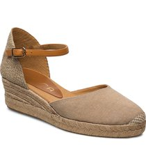 cisca_20_ecl_can sandalette med klack espadrilles beige unisa