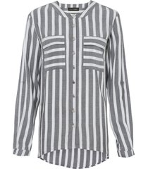 camicetta lunga a righe (grigio) - bodyflirt