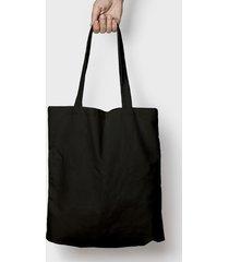 torba bawełniana (bez nadruku, gładka) - czarna