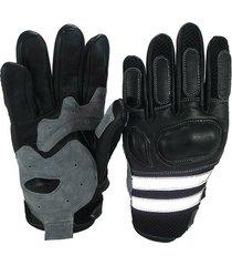 guante para moto bodybuilder - negro
