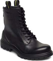 tredtray w shoes boots ankle boots ankle boot - flat svart ecco