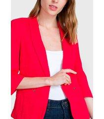 blazer io rojo - calce ajustado