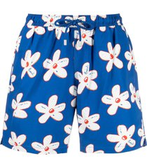 bluemint daisy print swim shorts