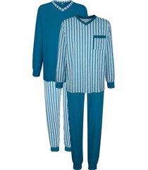 pyjamas roger kent turkos::ljusblå