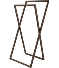 kingston brass pedestal x style steel construction towel rack bedding