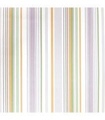 kit 2 rolos papel de parede fwb listras laranja verde lilã¡s e branco - branco/laranja/lilã¡s/verde - dafiti