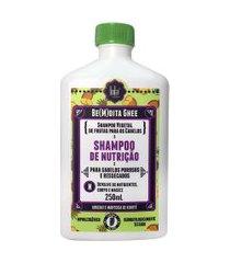 shampoo bem dita ghee nutrição 250ml - lola cosmetics único