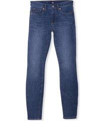 jeans mujer true skinny stretch brighton azul gap
