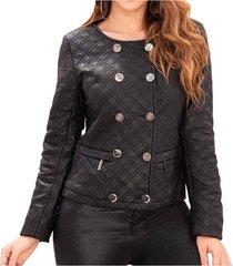 chaqueta cynthia negro para mujer croydon