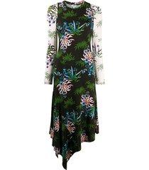 fluid asymmetrisch all over jurk