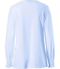 pyjama 100% katoen lange mouwen van féraud blauw