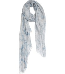 women's treasure & bond relaxed scarf, size one size - blue