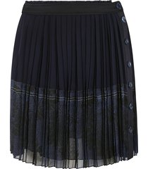 chloé buttoned pleated skirt