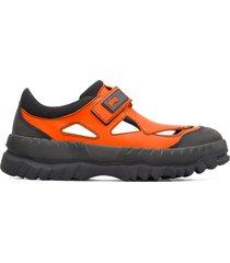 camper lab kiko kostadinov, sneaker uomo, arancione , misura 46 (eu), k100454-004