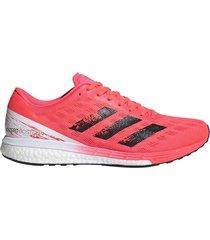 zapatilla coral adidas adizero boston 9