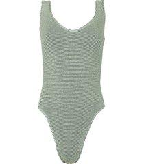 the mara swimsuit mint