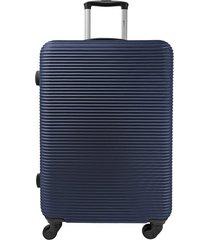 """maleta explora davos 28"""" -azul"""