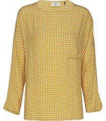day change blouse lange mouwen geel day birger et mikkelsen