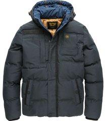 hooded jacket snowburst 2.0 jet black