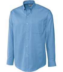 cutter & buck men's big & tall long sleeves epic easy care nailshead shirt