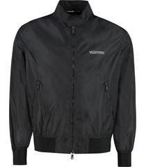 nylon windbreaker-jacket
