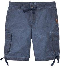 bermuda cargo con lavaggio loose fit (blu) - john baner jeanswear
