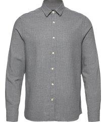 light flannel slim shirt overhemd casual grijs j. lindeberg