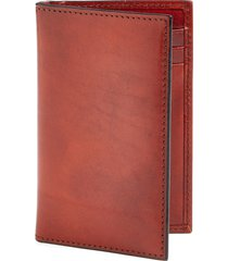 bosca old leather card case in cognac at nordstrom