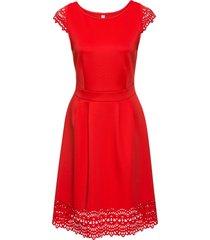 abito con trafori (rosso) - bodyflirt boutique