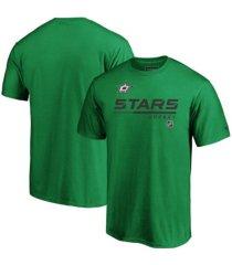 majestic dallas stars men's locker room prime t-shirt
