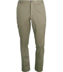 atm anthony thomas melillo men's stretch khaki pants - navy - size 36 34
