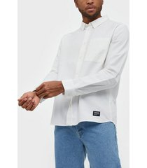 dr denim dale shirt skjortor white