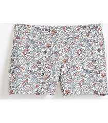 loft floral riviera shorts with 4 inch inseam