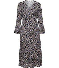 fayagz wrap dress ze1 19 jurk knielengte multi/patroon gestuz