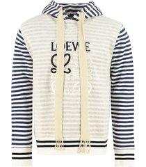 loewe cotton hoodie
