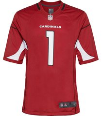 arizona cardinals nike game team colour jersey - player t-shirts short-sleeved röd nike fan gear