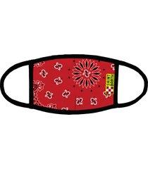 mc2 saint barth kid cover mask red bandana print