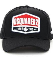 baseball cap logo dsquared2