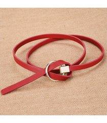 cinturón para mujer/estilo accesorio/ sra. cinturón-rojo