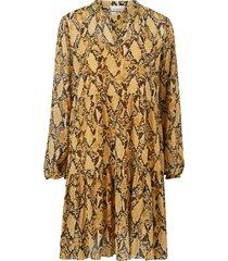 klänning snake midi dress