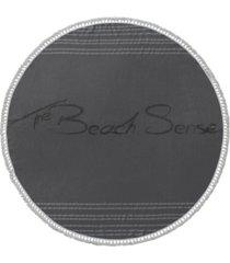 beach sense round turkish cotton beach towel bedding