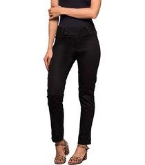 pantalon imitacion bolsillo linea negro ragged pf14310004